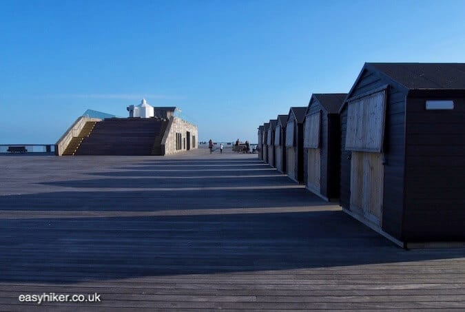 """St Leonard's pier along the Sussex Coastal Cultural Trail"""
