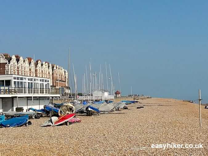 """beachfront of Eastbourne along the coastal culture trail"""