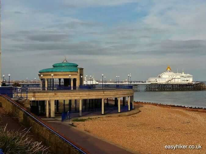"""Eastbourne pier along the coastal culture trail"""