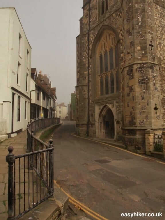 """Old Village of Hastings along Sussex Coastal Cultural Trail"""