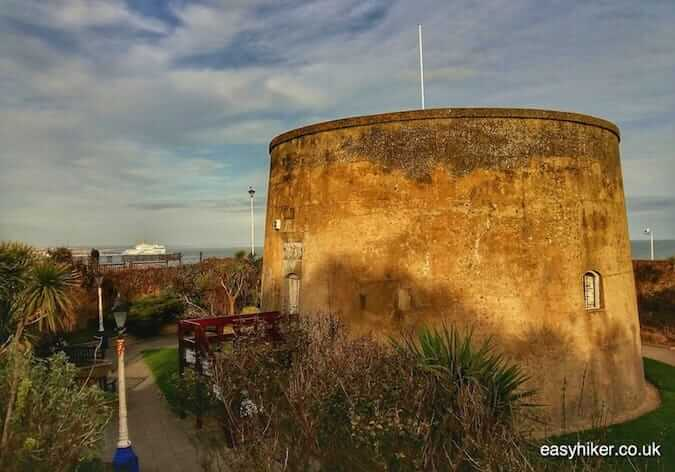 """Martello Tower in Eastbourne along the coastal culture trail"""