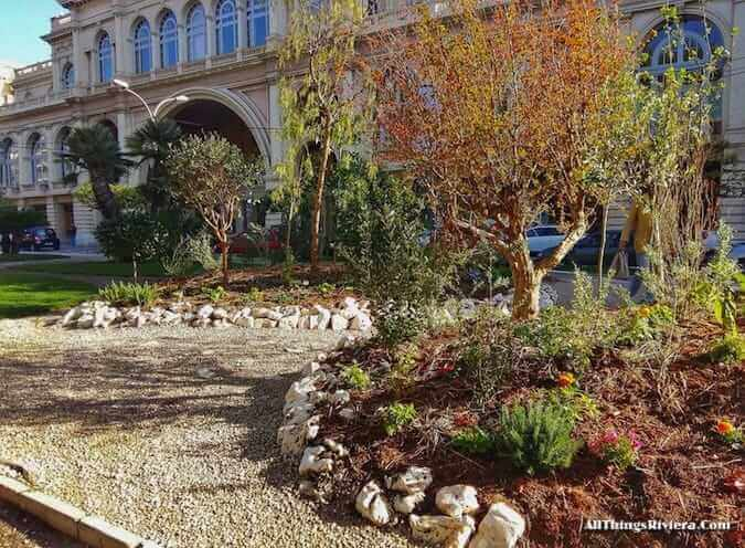 """Menton's edible garden for the inaugural Festival des Jardins"""