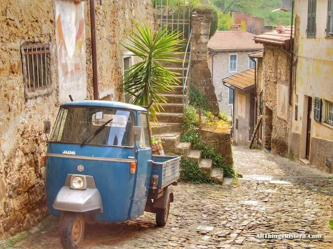 """""""starting in Apricale for a lovely spring hike"""""""
