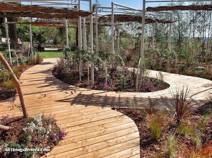 """""""Grasse garden exhibit for the Very First French Riviera Garden Festival"""""""