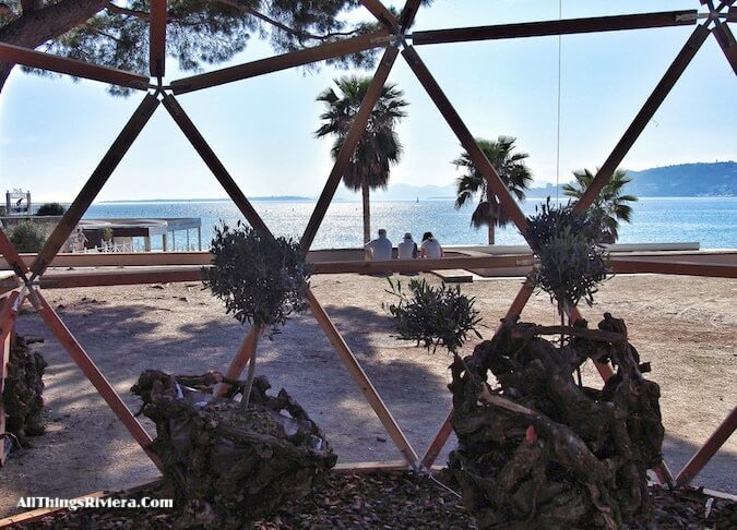 """Juan les Pins for the Very First French Riviera Garden Festival"""