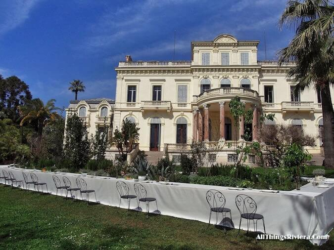 """""""Cannes garden in Villa Rothschild gardens for the Very First French Riviera Garden Festival"""""""