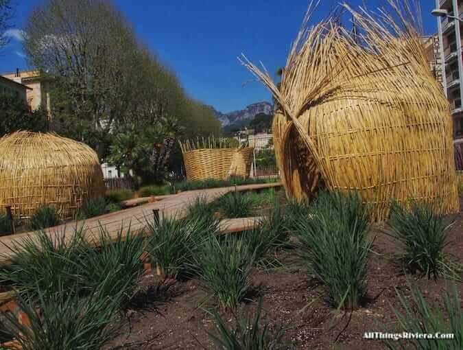 """Menton garden for the inaugural Festival des Jardins"""