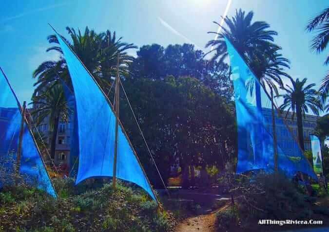 """garden in Nice participating in the inaugural Festival des Jardins"""
