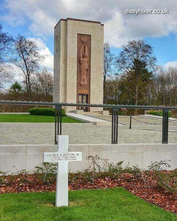 """""""Gen. Patton's Grave - Liberation and Remembrance in Europe"""""""