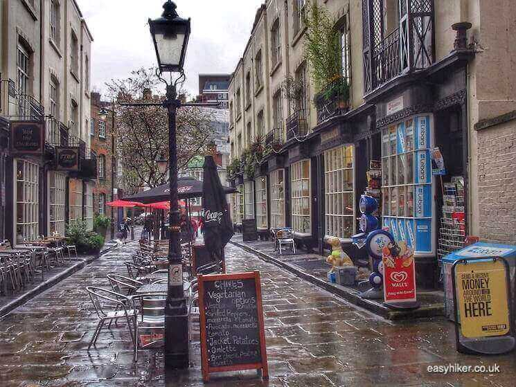 """Woburn Walk - in BloomsburyWriters Quarter of London"""