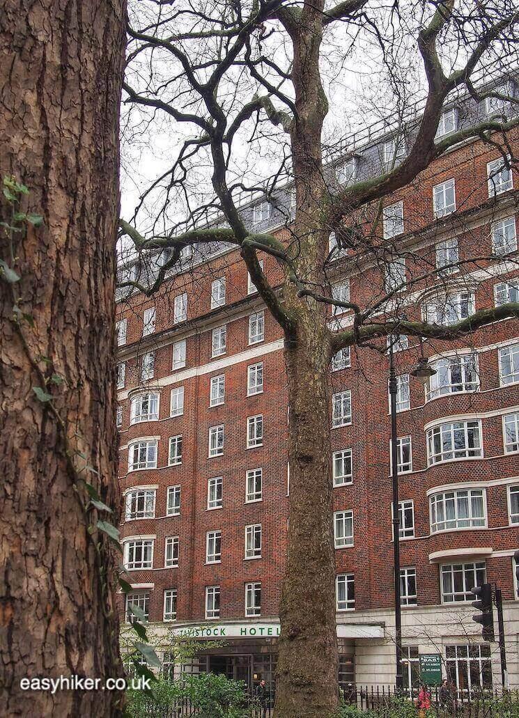 """Tavistock Hotel - in BloomsburyWriters Quarter of London"""