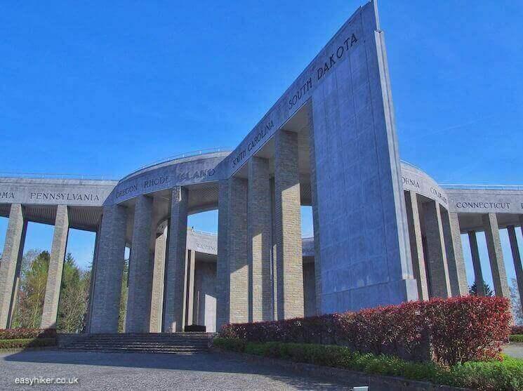 """Mardasson War Memorial - Fame of Bastogne"""
