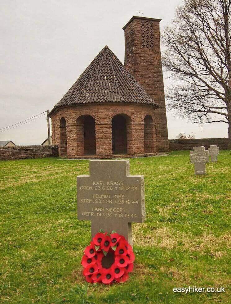 """Recogne War cemetery - Fame of Bastogne"""