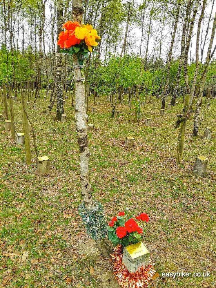 """""""Grave of fallen female soldier - Fame of Bastogne"""""""