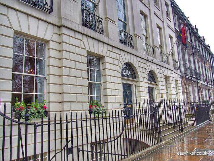 """""""47 Bedford Square - in BloomsburyWriters Quarter of London"""""""