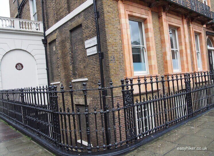 """""""HQ of Faber & Faber - in BloomsburyWriters Quarter of London"""""""