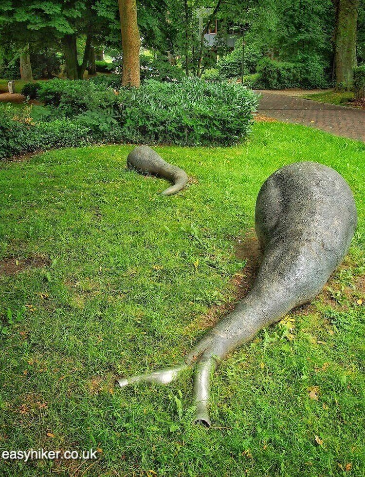 """sculptures in Marl - Modern Sculpture in Public Spaces"""
