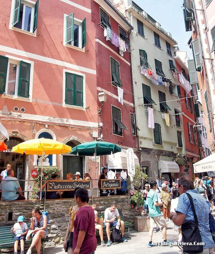 """in town in Vernazza - tips for Easy Hiking Experience in Cinque Terre"""
