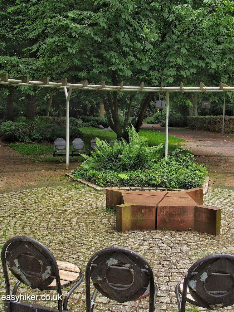 """Park seating in Marl - Modern Sculpture in Public Spaces"""