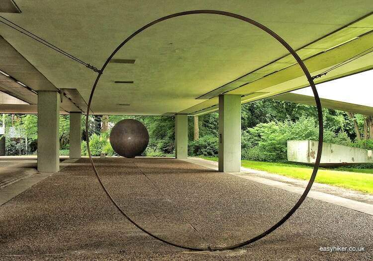 """part of Hot Wire Series in Marl - Modern Sculpture in Public Spaces"""