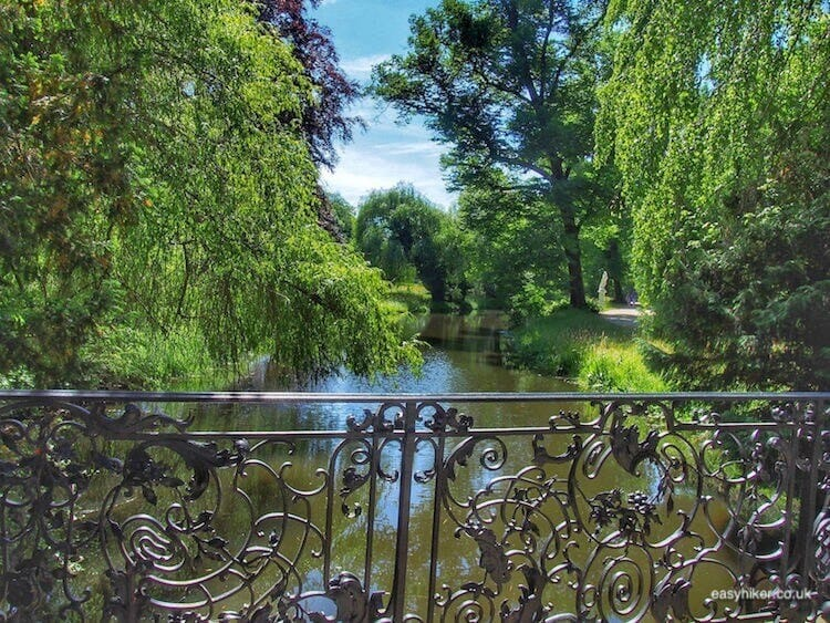 """a private garden on the grounds of Sanssouci in Potsdam - daytrip destination from Berlin"""
