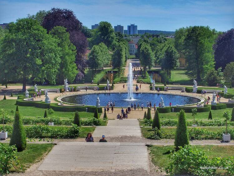 """Gardens of Palais Sanssouci in Potsdam - daytrip destination from Berlin"""