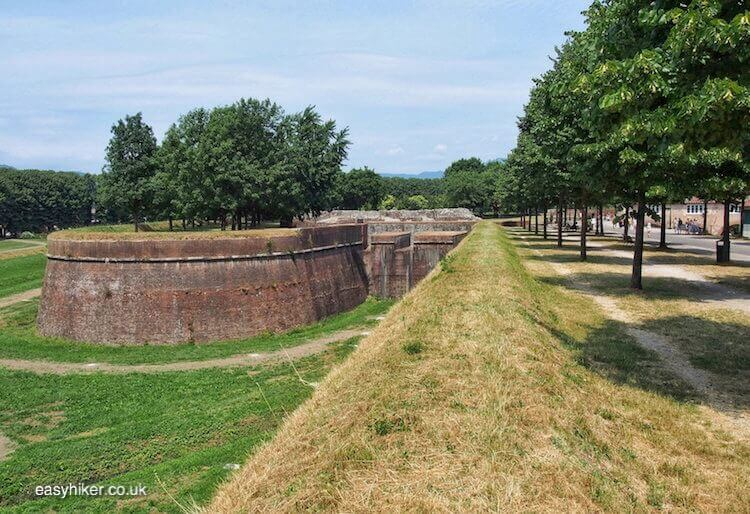 Part of the Walk Along the Lucca Wall