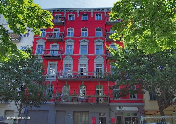 """new buildings threaten the still surviving spirit of Bohemian Berlin"""