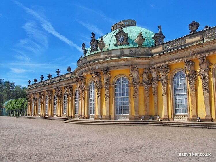 """Palais Sanssouci in Potsdam- daytrip destination from Berlin"""