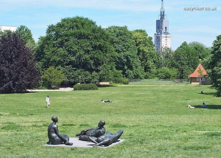 """a park in Potsdam - daytrip destination from Berlin"""