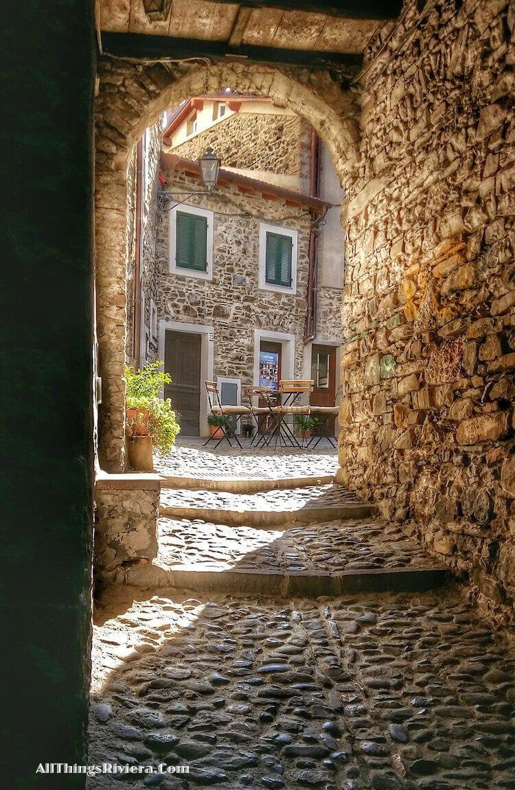 """Castel Vittorio town - easiest of easy hikes in Liguria"""