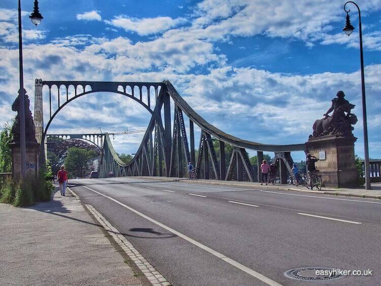 """along the Glienicket Bruecke in Potsdam - daytrip destination from Berlin"""