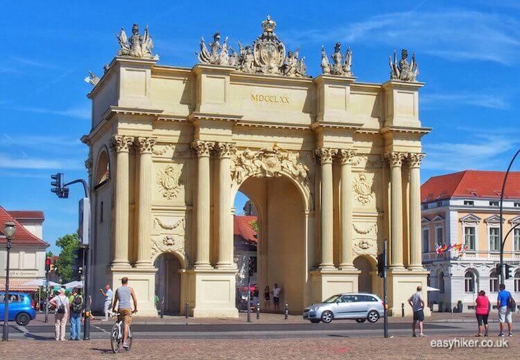 """""""Brandenburg Gate of Potsdam - daytrip destination from Berlin"""""""