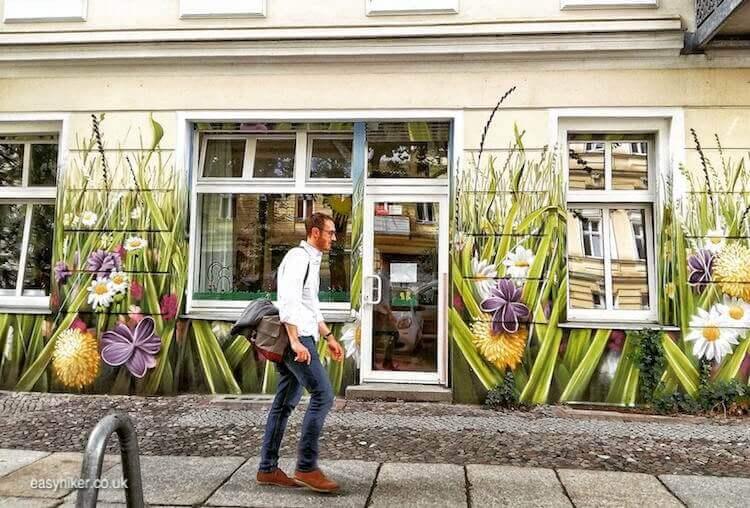 """flowered walk in the streets - spirit of Bohemian Berlin"""