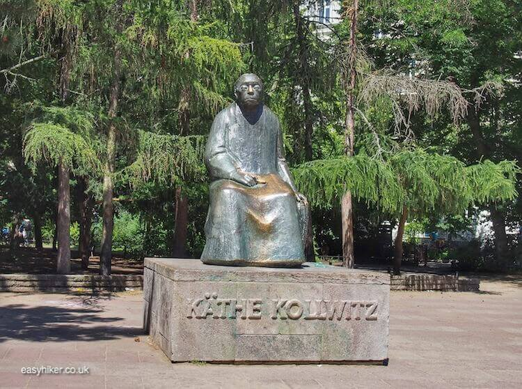 """Kollwitz Platz - spirit of Bohemian Berlin"""