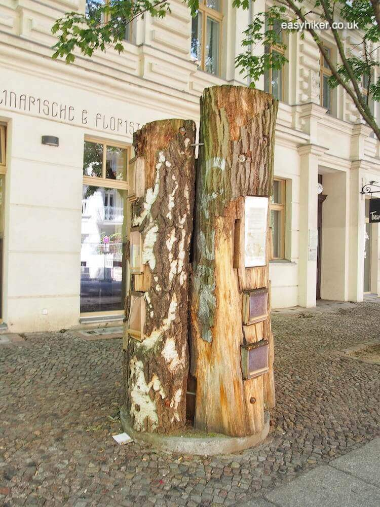"""book exchange logs - spirit of Bohemian Berlin"""