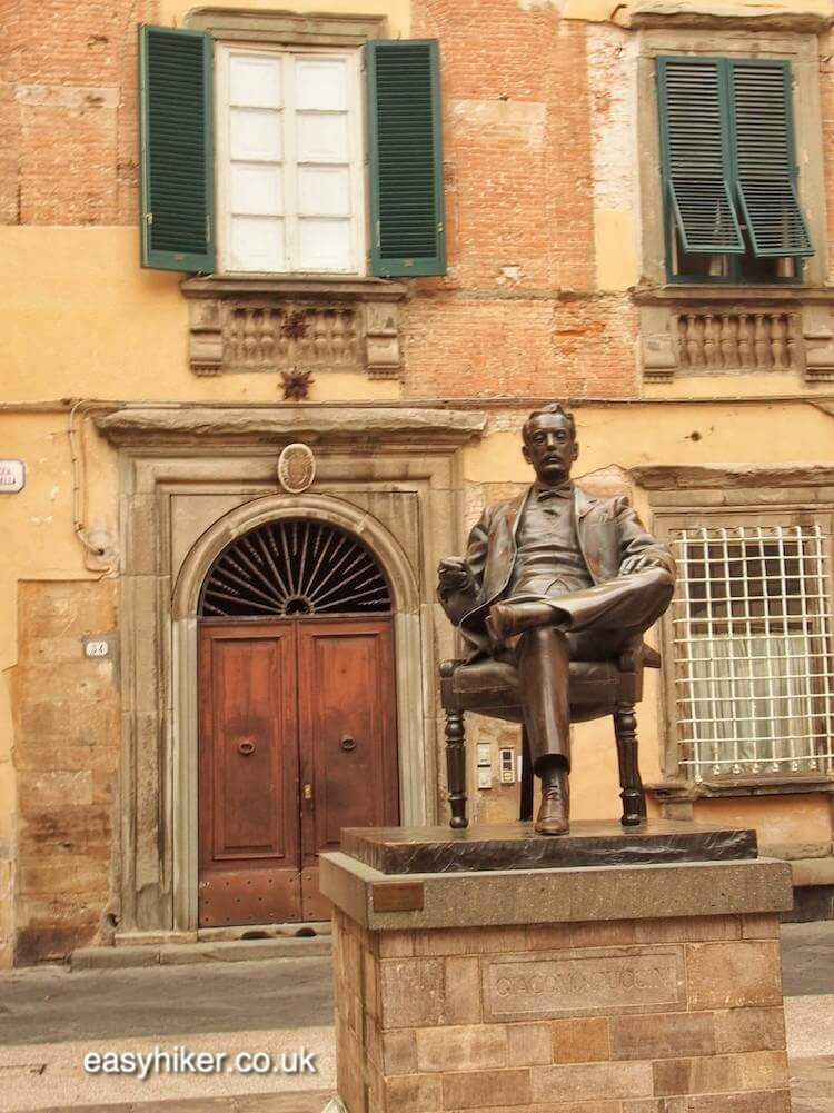 """visit Puccini museum on the Walk Along the Lucca Wall"""