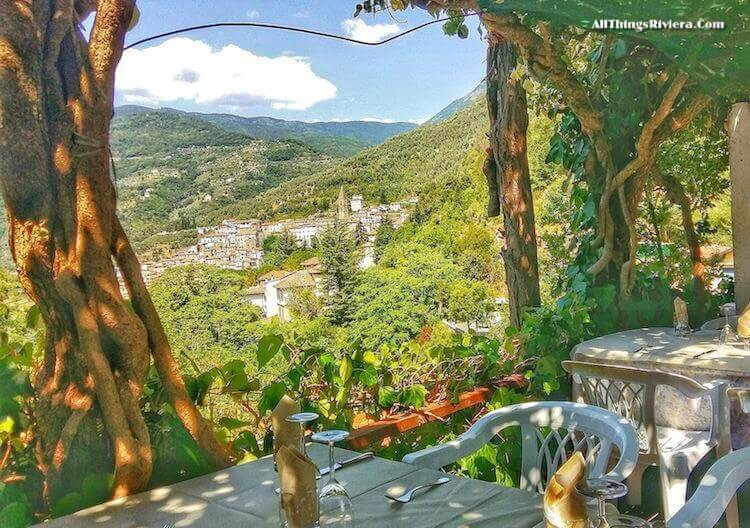 """""""View from restaurant Terme - easiest of easy hikes in Liguria"""""""