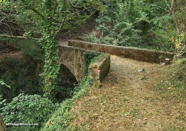 """""""a bridge along the trail - easiest of easy hikes in Liguria"""""""