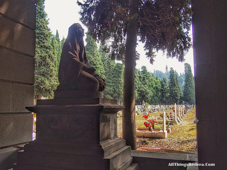 """""""graves in Staglione cemetery - One of the Wonders of the World"""""""