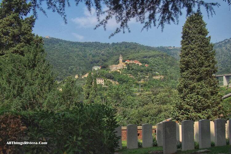 """""""view from Staglione cemetery - One of the Wonders of the World"""""""