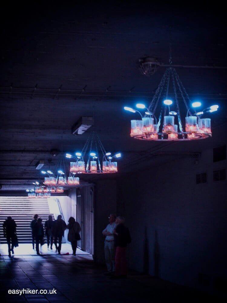 """""""Light installation by Aram Bartholl - Skulptur Projekte 2017 Muenster"""""""
