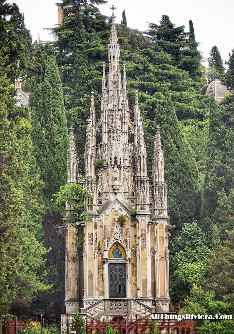 """""""cathedral-like burial in Staglione Cemetery as One of the Wonders of the World"""""""