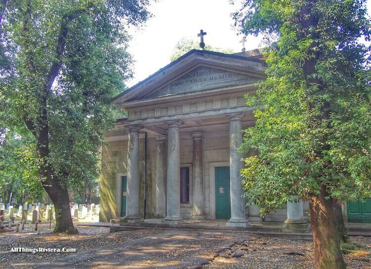 """""""a chapel in Staglione Cemetery - One of the Wonders of the World"""""""