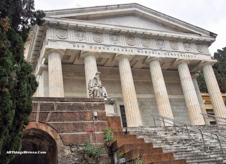 """""""Pantheon of Staglione cemetery - One of the Wonders of the World"""""""