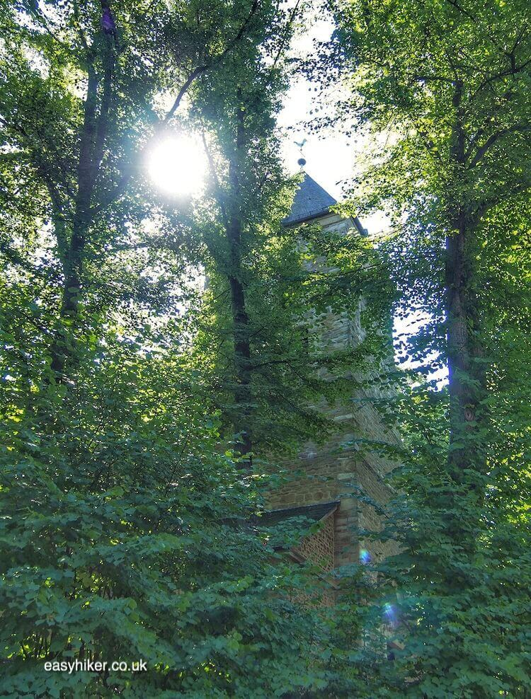 """St Lambertus Church along the way to where once they drown witches"""