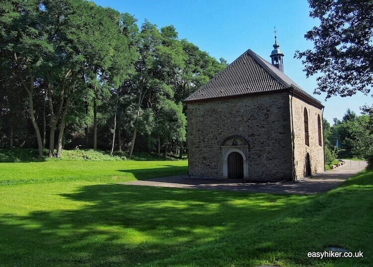 """past Annenkapelle on the way to see where they drown witches"""