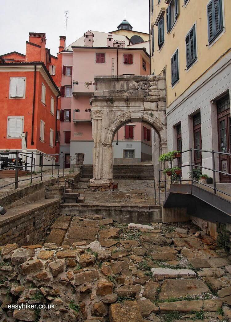 """Roman ruins in Trieste - a Different Italian Town"""