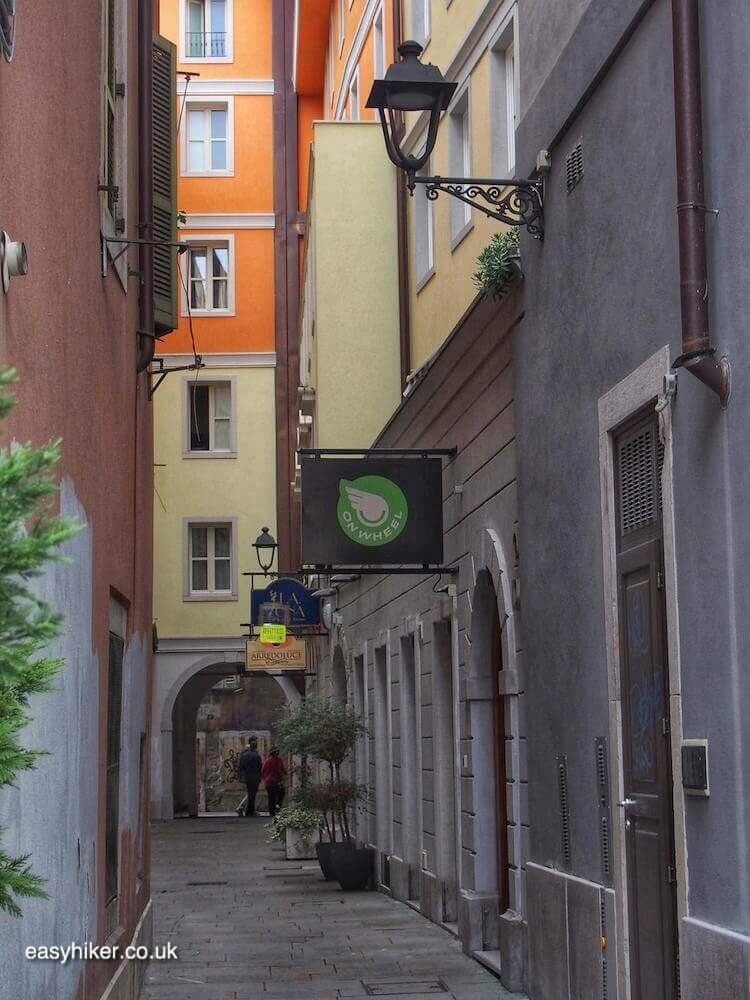 """Alleyways in Trieste - a Different Italian Town"""