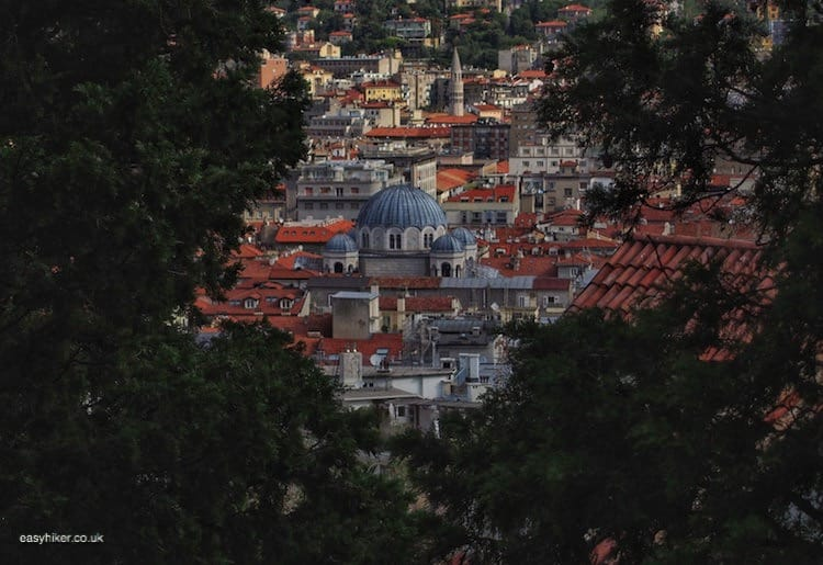"""Church in Trieste seen from a hilltop - a Different Italian Town"""